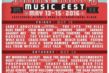 Shaky Knees 2016 Friday Recap