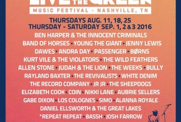 Live On The Green 2016 Artist Announcement