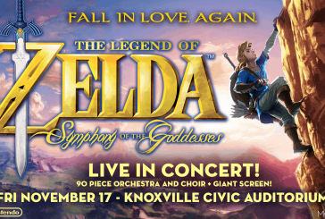 'The Legend of Zelda: Symphony of the Goddesses' 2017 heads to Knoxville