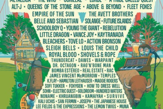 Outside Lands Single Day Lineup & Tickets