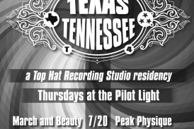Forging ties between Texas and Tennessee:  Top Hat Recording Studio curates Pilot Light concert series pairing musicians from each state