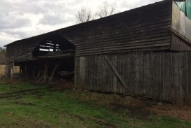 Requiem for a barn, a newspaper and a newspaperman