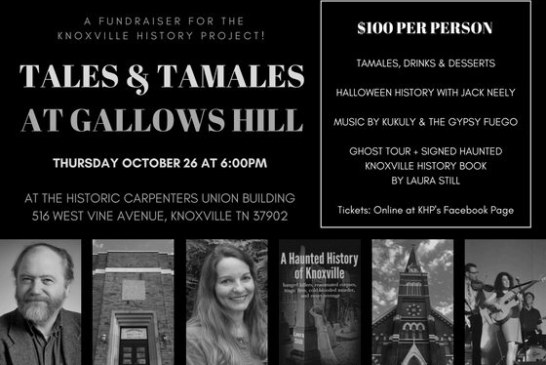 Tales and Tamales at Gallows Hill