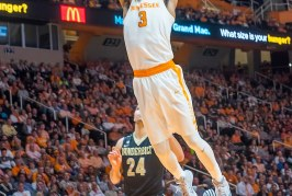 Tennessee coasts past short-handed LSU, 84-61