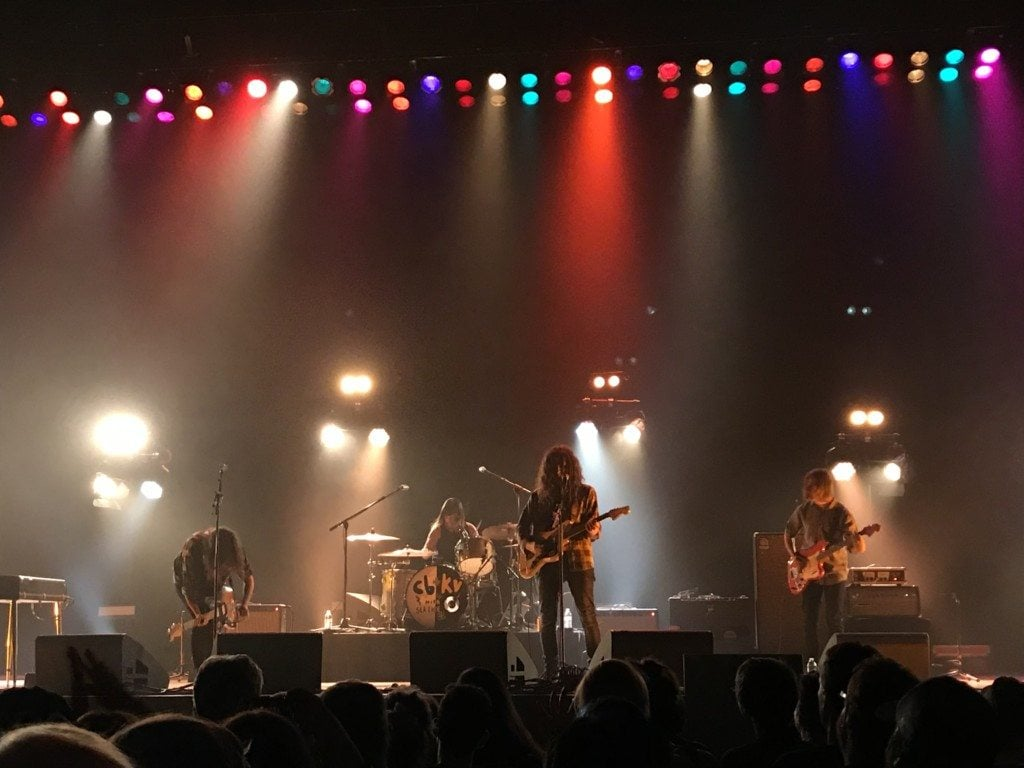 Courtney Barnett and Kurt Vile live at the Orpheum in Los Angeles