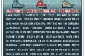 JACK WHITE, QUEENS OF THE STONE AGE AND THE NATIONAL TO HEADLINE 2018 SHAKY KNEES MUSIC FESTIVAL