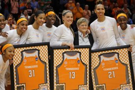 Lady Vols top #6 South Carolina on Senior Day in Knoxville