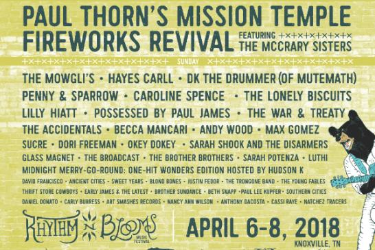 Rhythm N' Blooms Festival Announces Lineup Additions