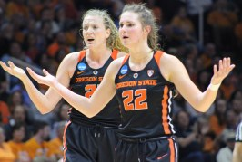 Lady Vols Fall to Oregon St. in NCAA Tournament