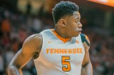 THAT JUST HAPPENED: Admiral Schofield fathers UGA, Vols cut down regular season nets