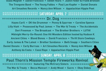 RHYTHM N' BLOOMS FESTIVAL ANNOUNCES DAILY ARTIST LINEUP AND SINGLE DAY TICKETS