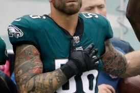 Super Bowl champion Chris Long donates 2017 salary to charity
