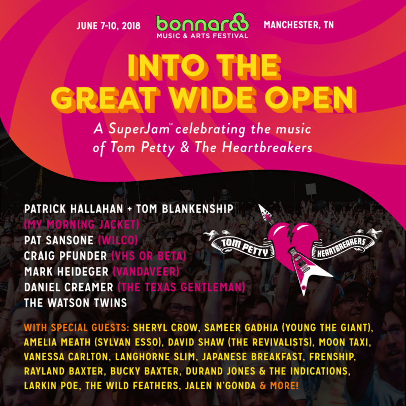 superfly and ac entertainment are pleased to announce plans for the world famous superjam at the 2018 bonnaroo music and arts festival